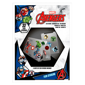Stickers Marvel: Vengadores
