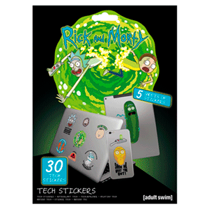 Stickers Rick y Morty: Artifacts