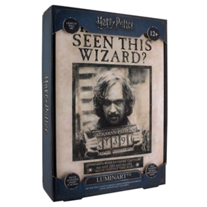 Cuadro Retroiluminado Harry Potter: Sirius Black
