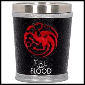 Mini Vaso Juego de Tronos: Targaryen