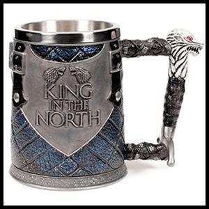 Jarra Juego de Tronos: Rey en el Norte