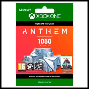 Anthem 1050 Shards Pack XONE