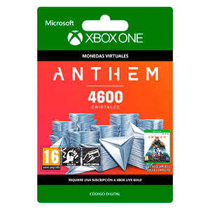 Anthem 4600 Shards Pack XONE