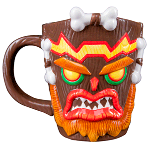 Taza 3D Crash Bandicoot: Uka Uka