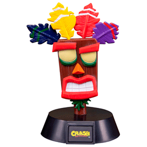 Mini Lámpara Crash Bandicoot: Aku Aku