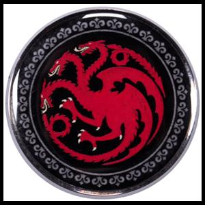 Pin Juego de Tronos: Targaryen