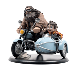 Figura Qfig Harry Potter: Harry y Hagrid