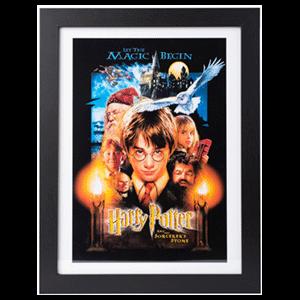 Print Enmarcado Harry Potter: La Piedra Filosofal