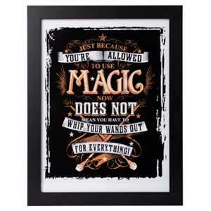 Print Enmarcado Harry Potter: Magic