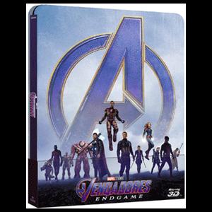 Vengadores Endgame - Steelbook 3D + 2D