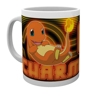 Taza Pokemon: Charmander Neon
