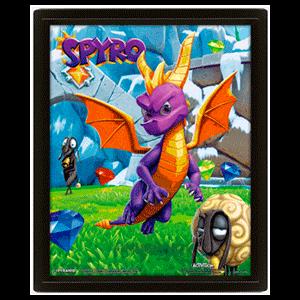 Cuadro 3D Spyro
