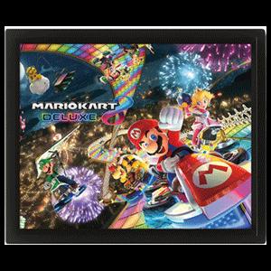 Cuadro 3D Super Mario: Mario Kart 8