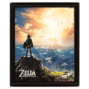 Cuadro 3D The Legend of Zelda: Sunset