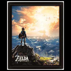 Cuadro 3D The Legend of Zelda: Sunset
