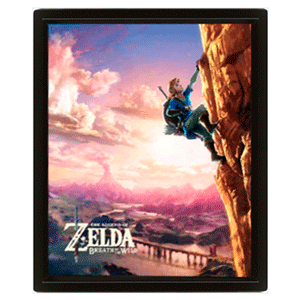 Cuadro 3D The Legend of Zelda: Climbing