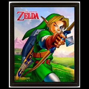Cuadro 3D The Legend of Zelda: Ocarina Arrow