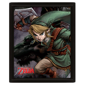 Cuadro 3D The Legend of Zelda: Twilight Princess