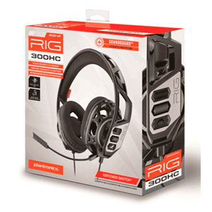 Auriculares Plantronics Rig 300HC NSW-PC (REACONDICIONADO)