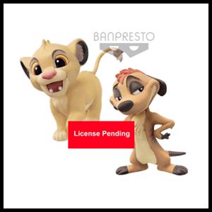 Figura Qposket El Rey León: Timón y Simba