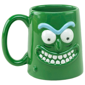 Taza 3D Rick y Morty: Rickinillo