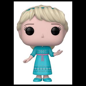 Figura Pop Frozen 2: Joven Elsa