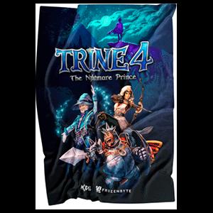Trine 4 póster de tela