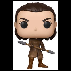 Figura Pop Juego de Tronos: Arya con Lanza