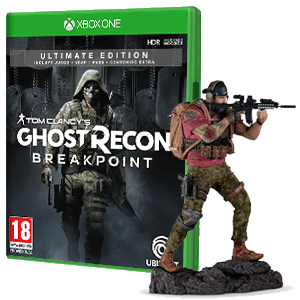 Ghost Recon Breakpoint Ultimate Edition + Figura Nomad