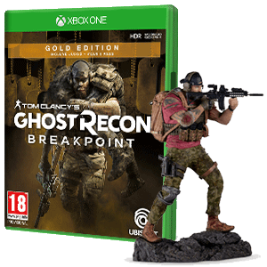 Ghost Recon Breakpoint Gold Edition + Figura Nomad
