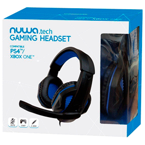 Auriculares Nuwa Gaming Headset - Auriculares Gaming