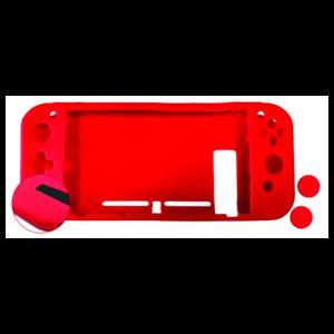 Set de Protección para Nintendo Switch Nuwa Rojo