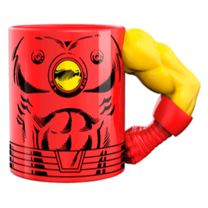 Taza Iron Man 2D
