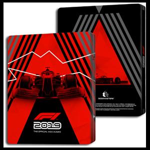 F1 2019 - Caja metálica