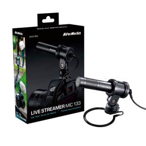 AVerMedia AM133 Jack 3.5mm Uni-directional Cardioide - Micrófono