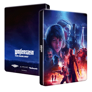 Wolfenstein Youngblood - Caja metálica
