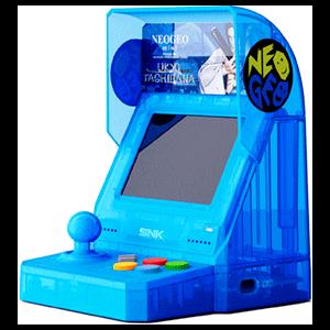 Consola Retro SNK Neo Geo Mini Samurai Shodown V Ed. Ukyo Tachibana