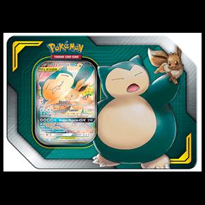 Caja Pokemon Tag Team: Eevee y Snorlax