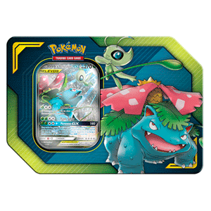 Caja Pokemon Tag Team: Celebi y Venusaur