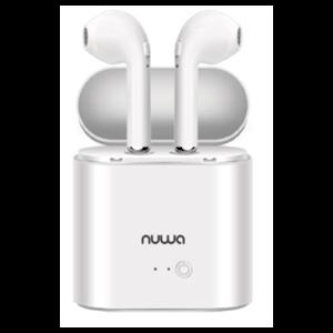 Auriculares Nuwa Bluetooth ST-20 Blancos