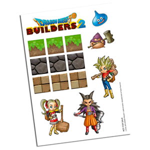 Dragon Quest Builders 2 - Set de imanes