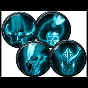 Warhammer Chaosbane Pack de cascos PS4