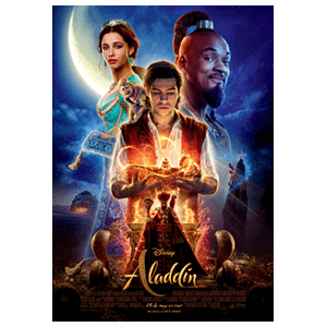 Aladdin 2019 - póster