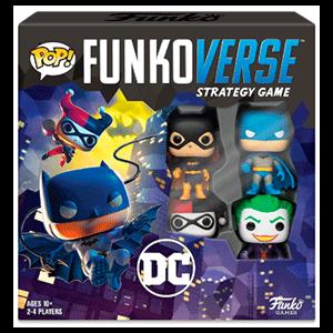Juego Pop Funkoverse DC