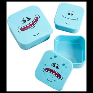 Set de Cajas de Almacenamiento Rick y Morty: Mr. Meeseeks