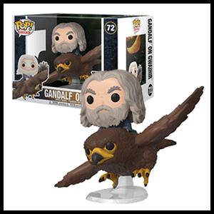 Figura Pop Rides El Señor de los Anillos: Gwaihir con Gandalf