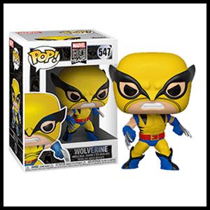 Figura Pop Marvel 80th: Wolverine Primera Aparición
