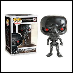 Figura Pop Terminator Dark Faith: REV-9 Endoskeleton