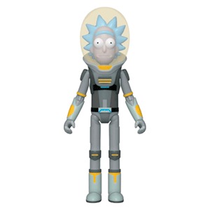 Figura Pop Acción Rick y Morty: Space Suit Rick