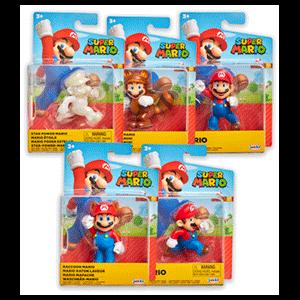 Surtido Figuras Super Mario 6 cm W21